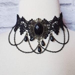 Gothic Witchy Choker Necklace
